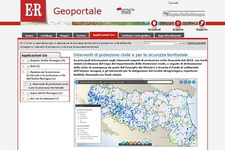 Mappa interventi WebGIS