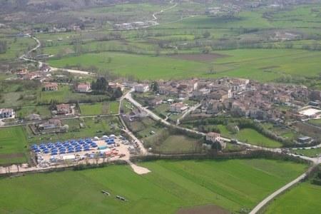 Campo accoglienza di Sant'Eusanio Forconese (AQ)