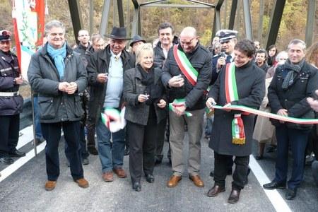 Inaugurazione ponte sul Torrente Dolo