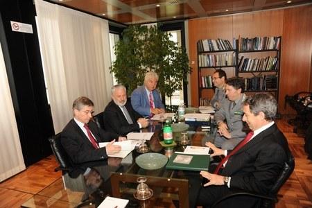 Firma convenzione tra Regione Emilia Romagna e Corpo Forestale dello Stato