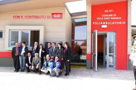 Inaugurazione Poliambulatorio Villa Sant'Angelo (AQ)