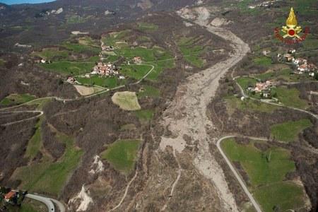 Dissesti idrogeologici marzo aprile in Emilia-Romagna