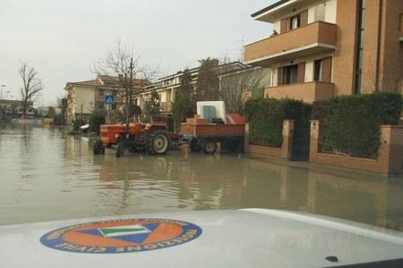Alluvione Provincia di Modena 19 gennaio 2014