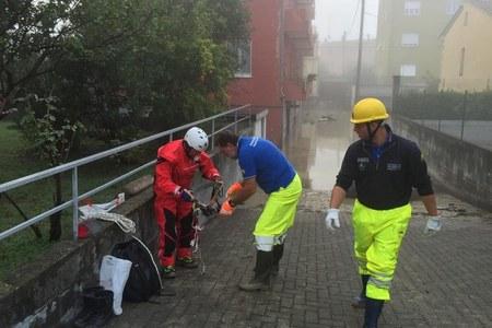 Emergenza maltempo Parma 13/10/2014