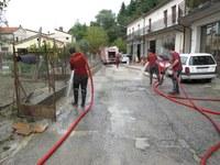 Intervento dei Vigili del Fuoco a Modigliana nel forlivese