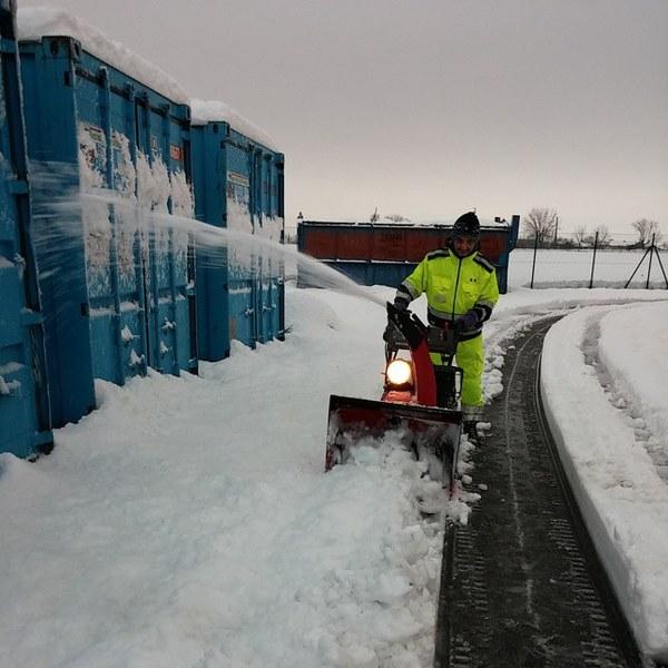 Intervento emergenza maltempo neve II