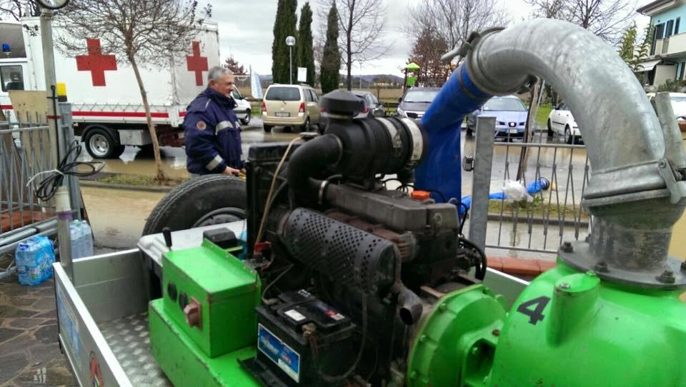 Intervento emergenza maltempo Romagna VII
