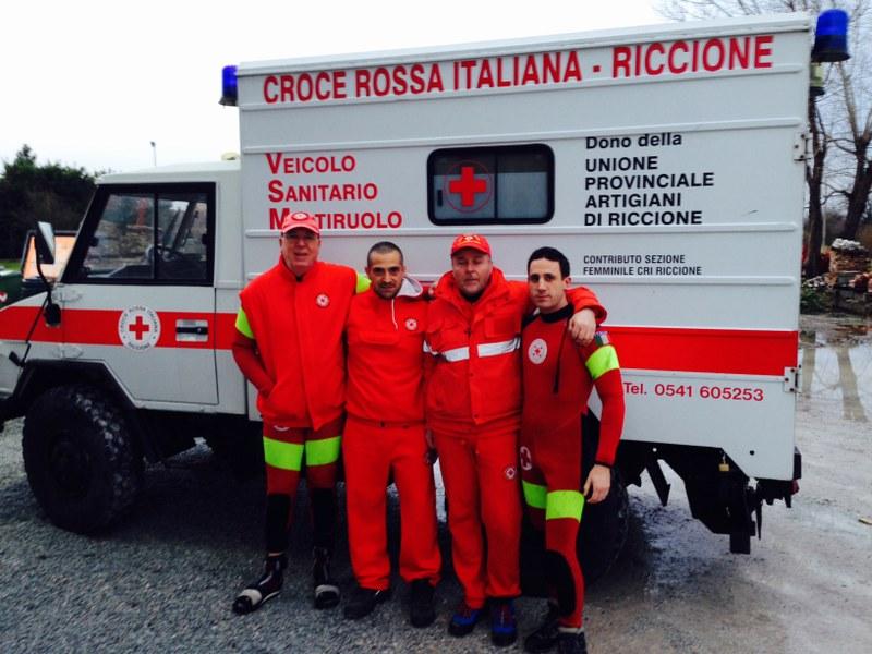 Intervento emergenza maltempo Romagna X