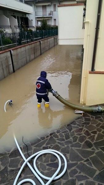 Intervento emergenza maltempo Romagna
