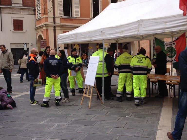 Cittadini in piazza