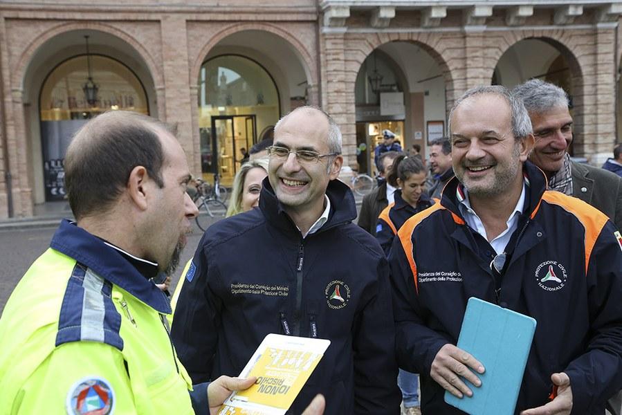 Il Capo Dipartimento a Forlì