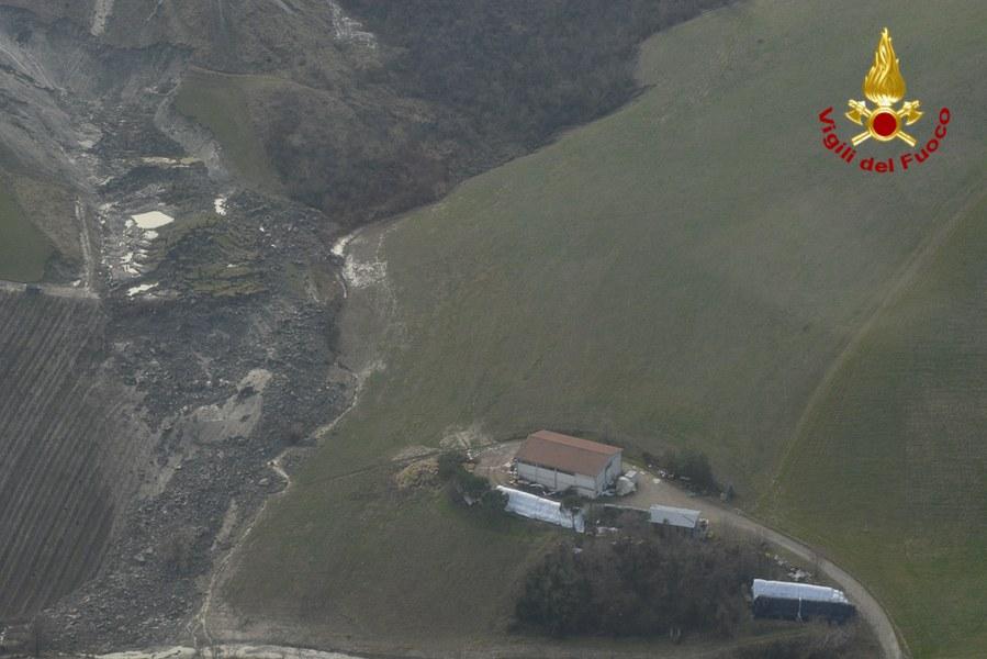 Maltempo 25 febbraio - Frana Borgo Tossignano - 1