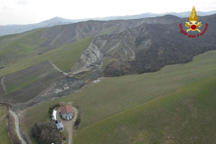 Maltempo 25 febbraio - Frana Borgo Tossignano - 3
