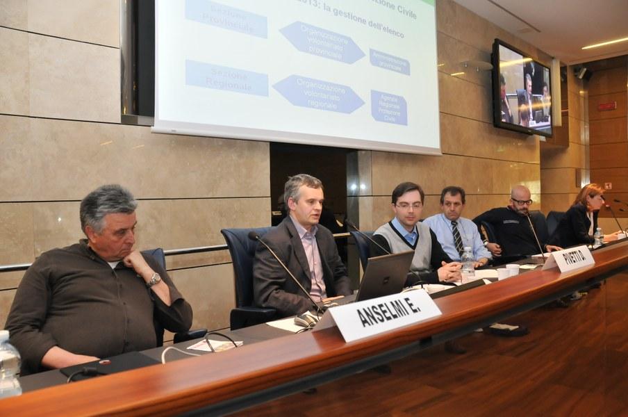 Intervento di Daniele Pivetti - Agenzia Regionale di Protezione Civile