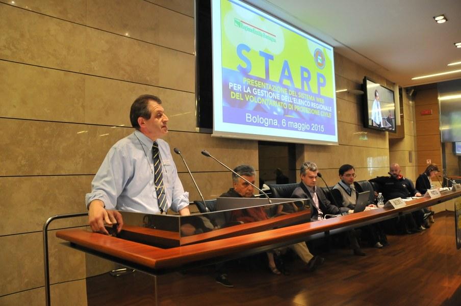 Intervento di Maurizio Mainetti Direttore dell'Agenzia Regionale di Protezione Civile