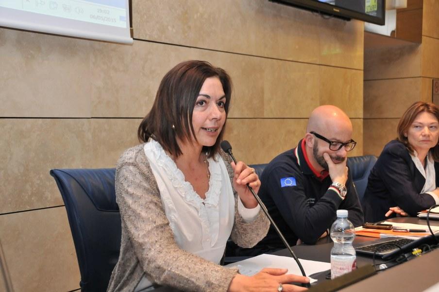 Intervento di Paola Gazzolo  - Assessore regionale alla Difesa del Suolo e della Costa, Protezione Civile, Politiche Ambientali e della Montagna