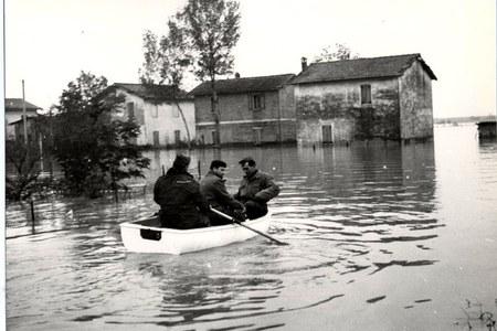 50 anni dall'alluvione del 1966 di Reno e Samoggia