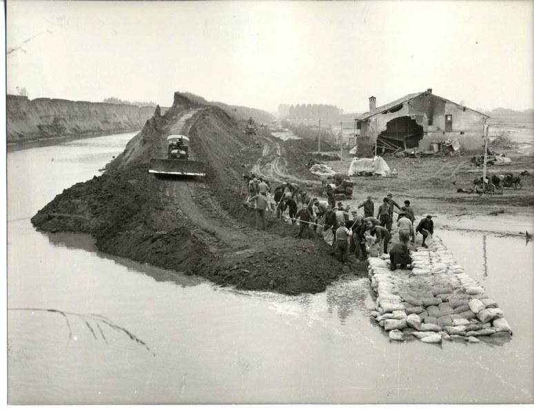 Alluvione del Reno novembre dicembre 1966 9/19
