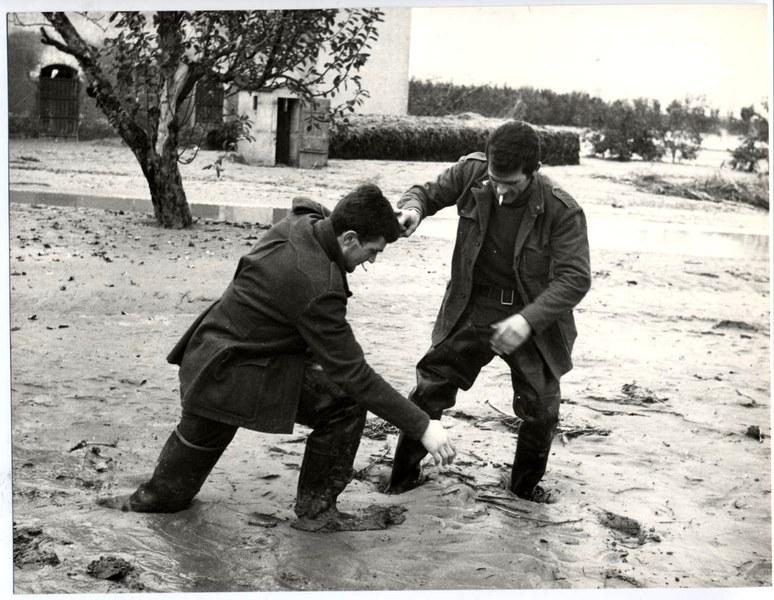 Alluvione del Reno novembre dicembre 1966 17/19