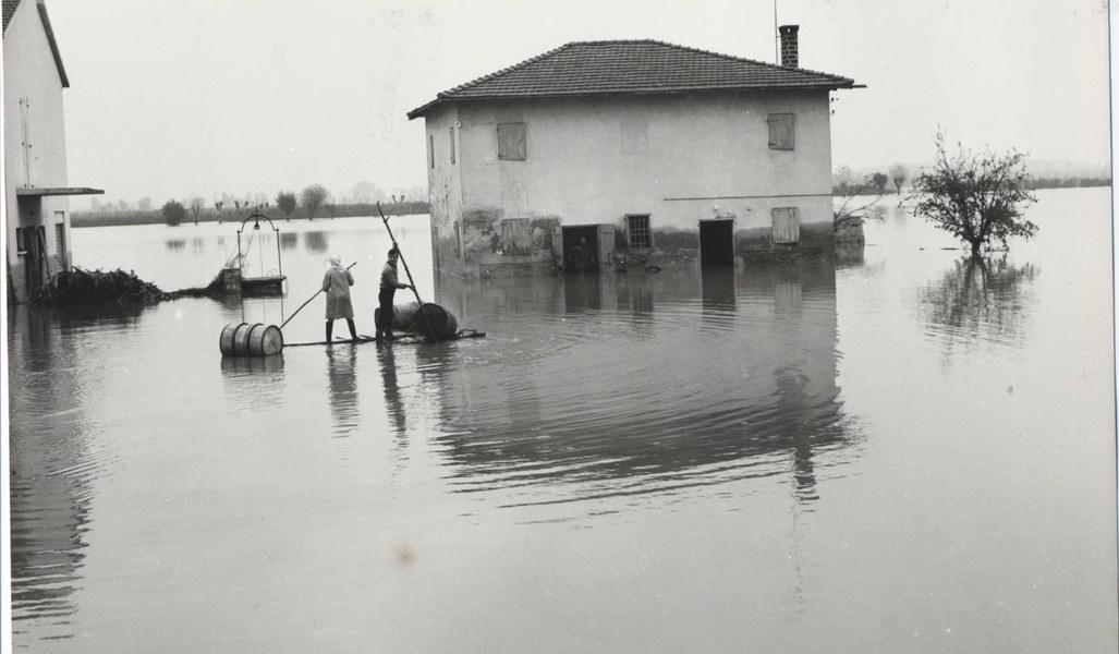 Alluvione del Reno novembre dicembre 1966 11/19