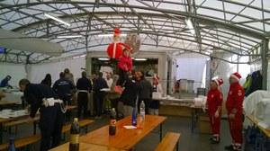 Festività natalizie al campo di Caldarola