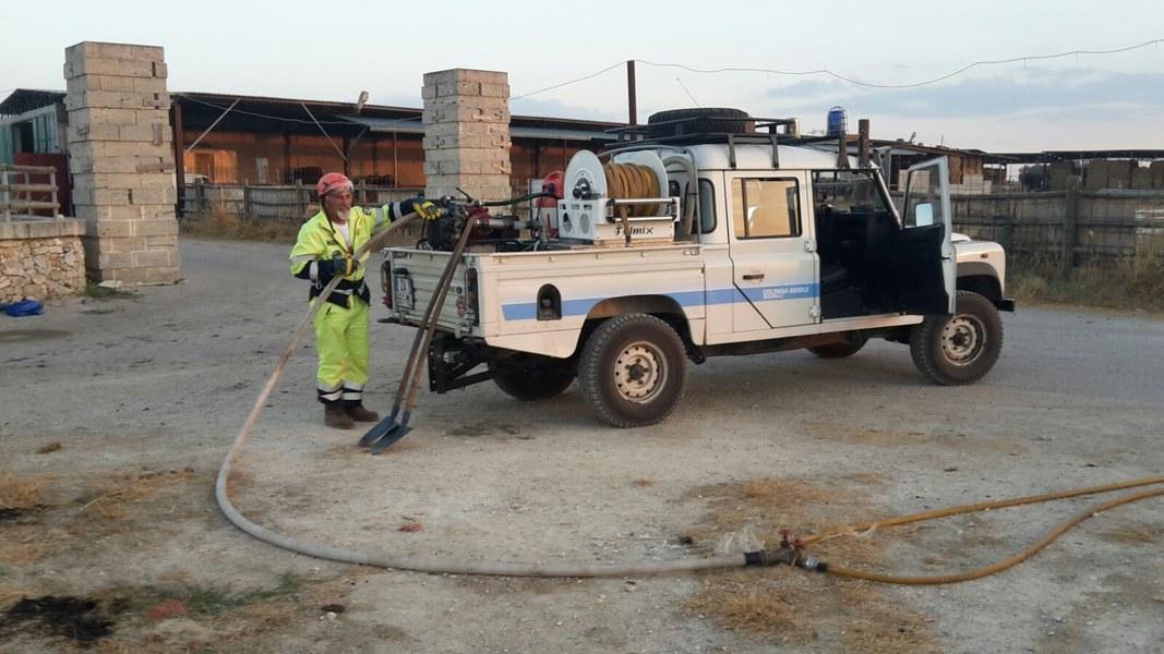 Coordinamento volontari Protezione Civile Piacenza - 3° turno V