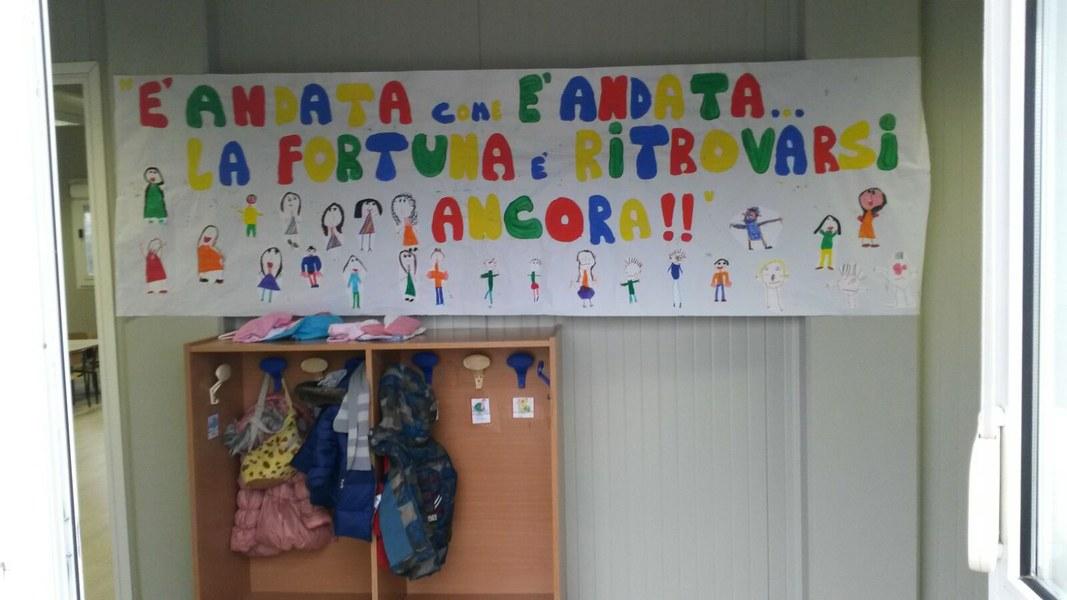 La scuola riprende a Caldarola