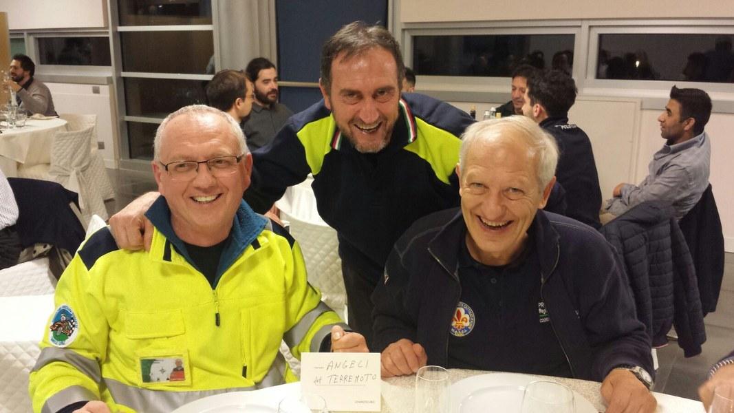 Volontari e funzionari dell'Agenzia a Caldarola e San Severino Marche - 3