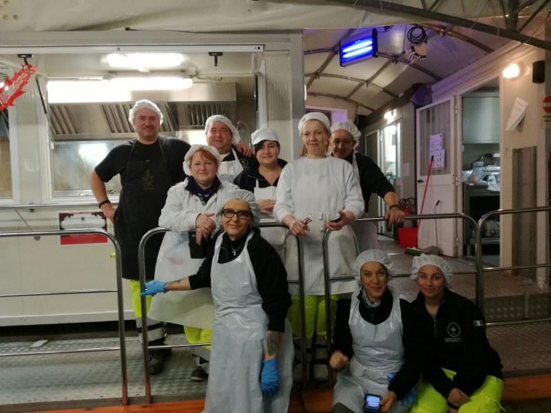 Volontari e funzionari dell'Agenzia a Caldarola e San Severino Marche - 4