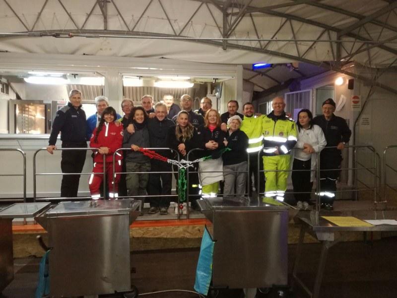 Volontari e funzionari dell'Agenzia a Caldarola e San Severino Marche - 5