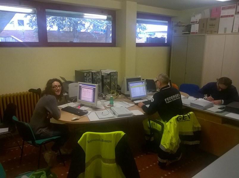 Volontari e funzionari dell'Agenzia a Caldarola e San Severino Marche - 8