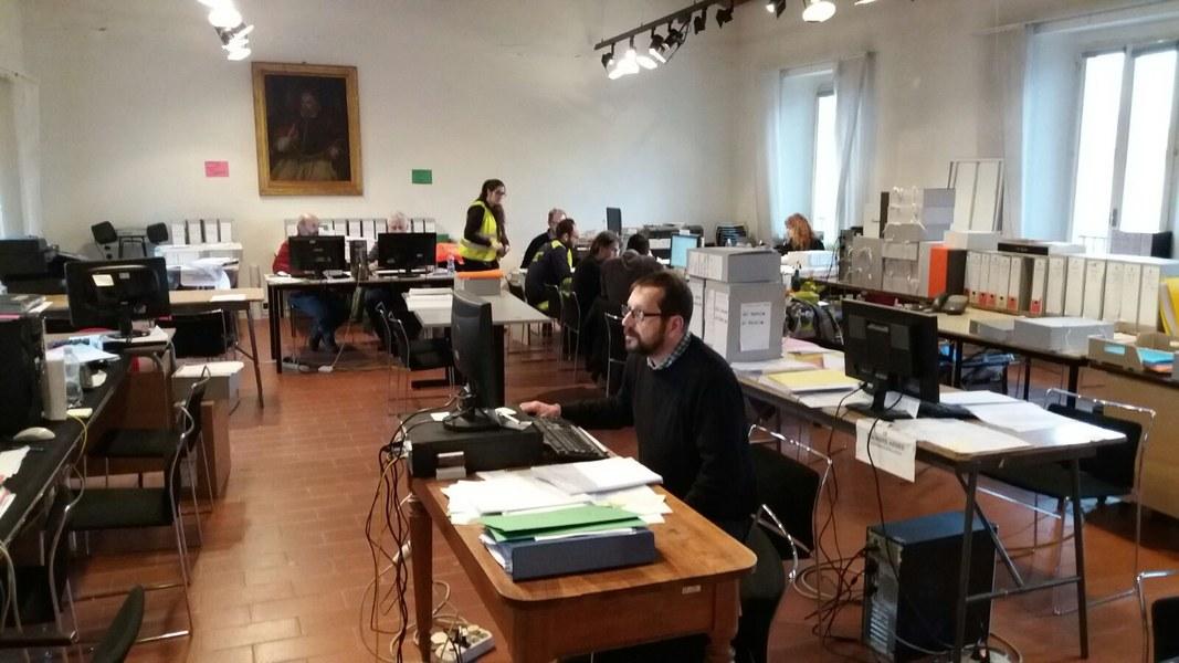 Volontari e funzionari dell'Agenzia a Caldarola e San Severino Marche - 9
