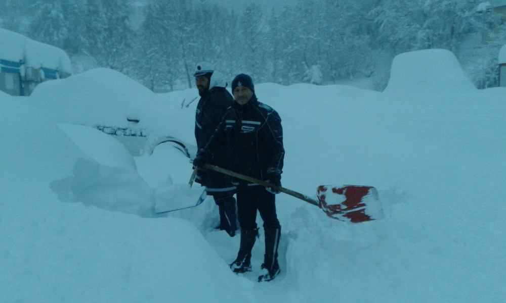 Emergenza neve nelle zone terremotate - 10/10