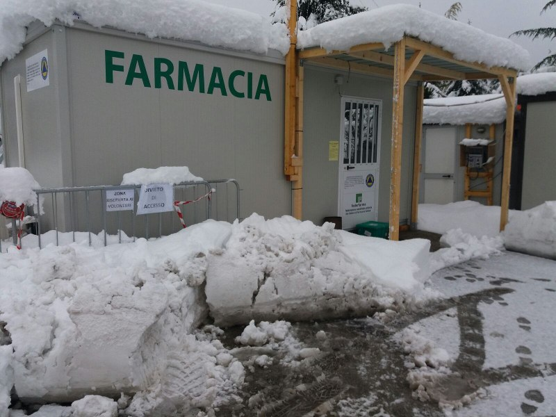 Emergenza neve nelle zone terremotate - 4/10