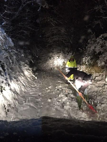 Emergenza neve nelle zone terremotate - 6/10