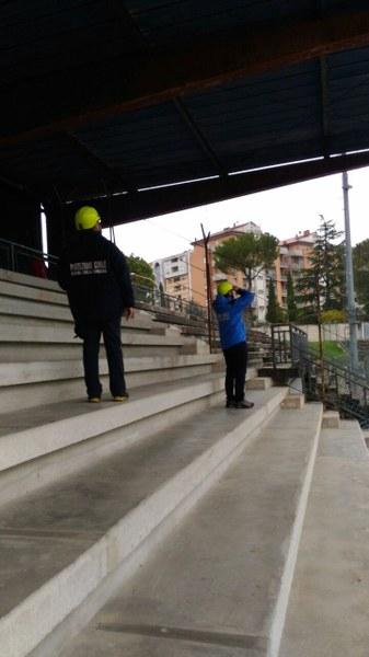 Tolentino - stadio comunale 5 aprile 2017 I
