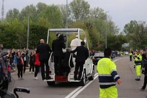 Visita Santo Padre - Carpi 2 aprile 2017. La Protezione civile al lavoro (foto di Roberto Ferrari www.cpvpc.it)