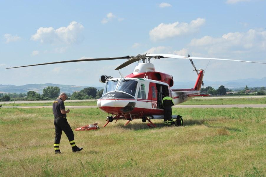 Elicottero VVF