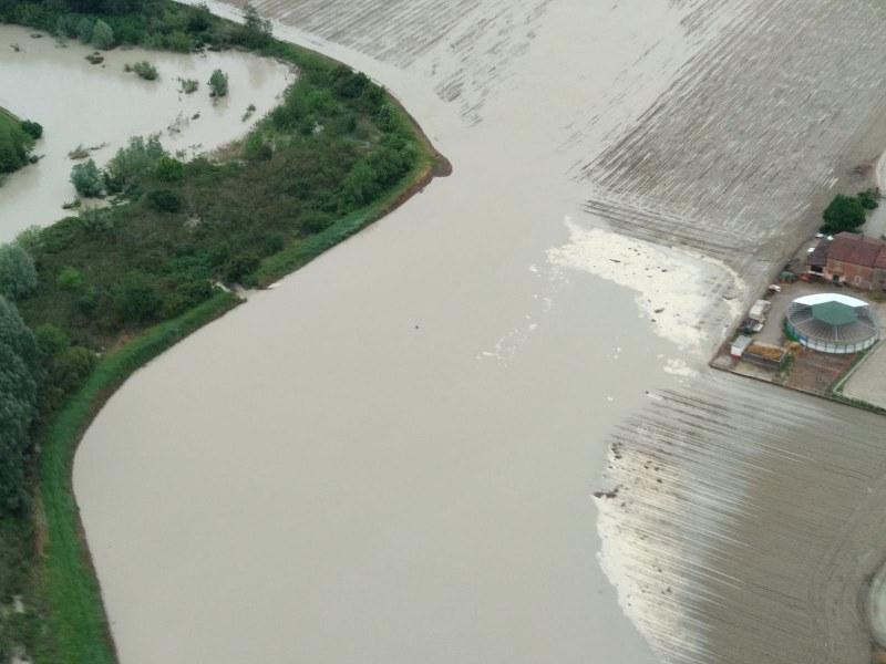 13 maggio: Esondazione fiume Sillaro