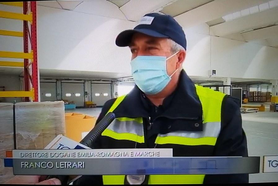 Requisizione di dispositivi medici e consegna all'Agenzia regionale di protezione civile 3