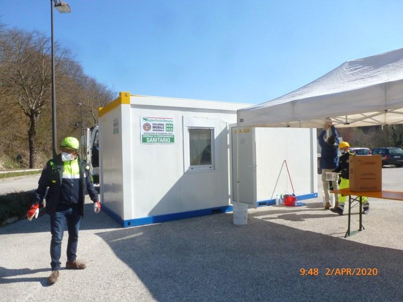 ANA 1- installazione transit point Bagno di Romagna.JPG