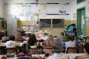 Scuola, classe, alunni, insegnanti