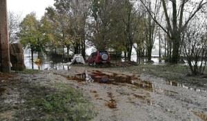 Alluvione Budrio - intervento su casa colonica