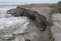 Erosione sulla costa ferrarese