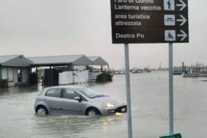 Allagamenti in provincia di Ferrara
