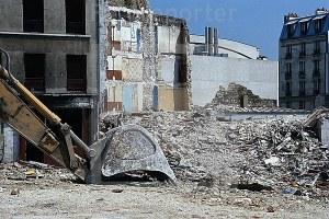 Macerie, casa distrutta