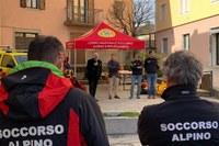 Soccorso Alpino - consegna materiali (2)