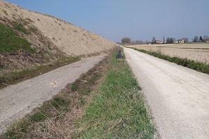 torrente samoggia lorenzatico spostamento strada