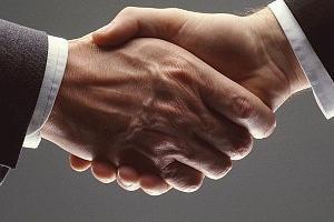 Stretta di mano - convenzioni generiche